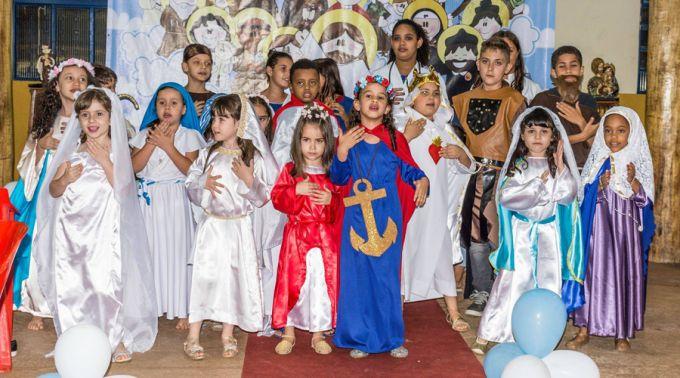 Bailinho dos Santos - Comunidade Beatitudes 2016