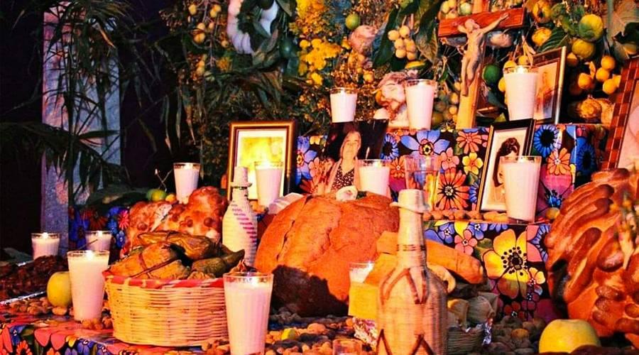 Oratório em homenagem aos falecidos de uma família, no México