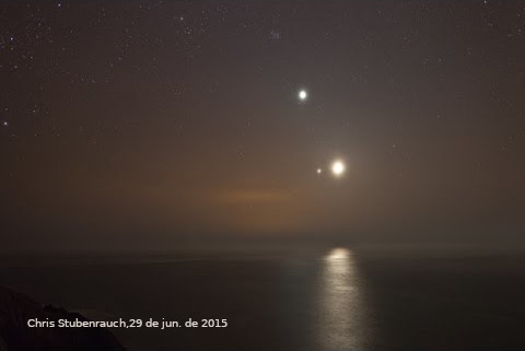 Júpiter, Vênus e a Lua, em conjunção em 2015: uma versão de como teria sido a Estrela de Belém