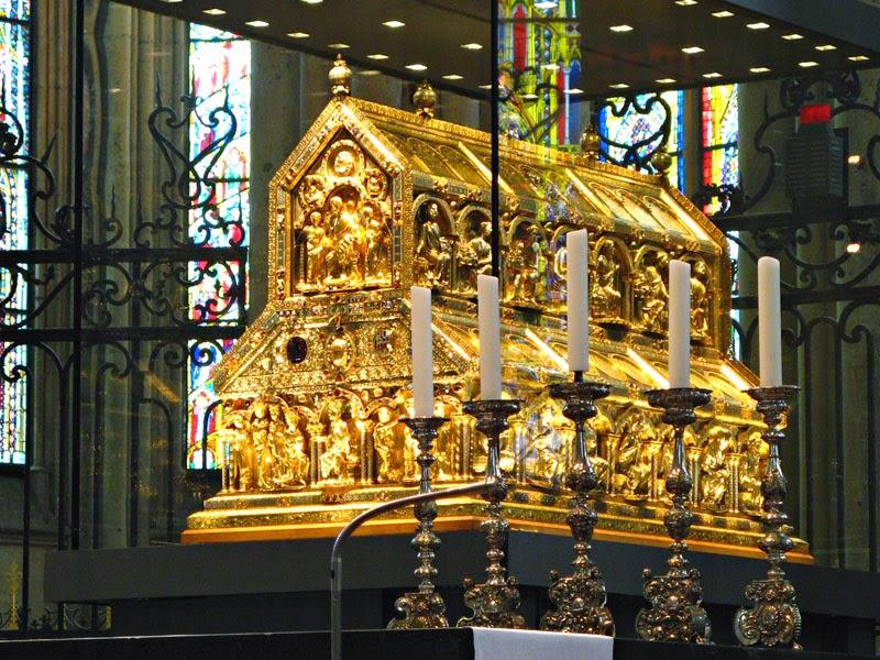 Relicário dos Reis Magos na Catedral de Colônia, Alemanha