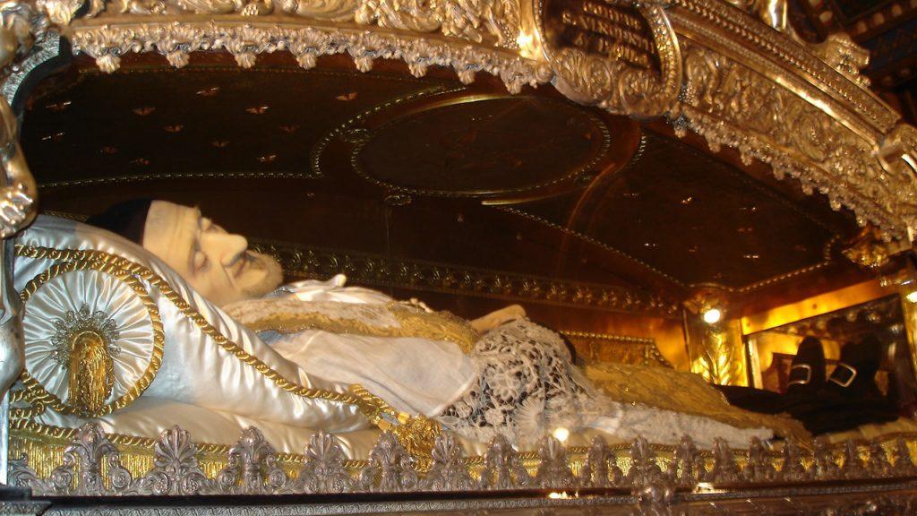 Corpo incorrupto de São Vicente de Paulo
