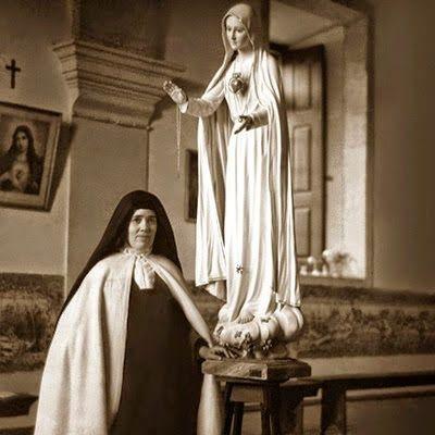 Irmã Lúcia no Carmelo