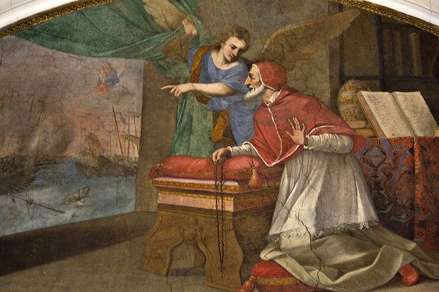 São Pio V e a batalha de Lepanto